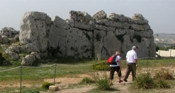 Malta. Gozo. Neolith monument