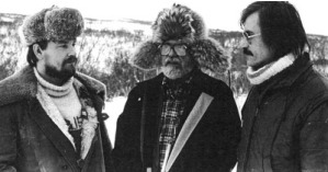 A. Hynek with E.Strand and L.Havik